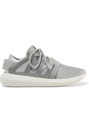 ADIDAS ORIGINALS Tubular Viral neoprene and leather sneakers