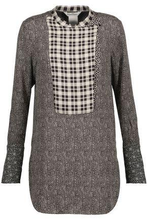 MAX MARA Silk-jacquard blouse