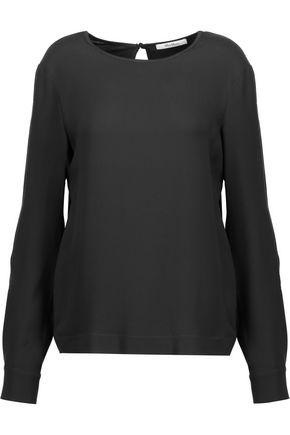 MAX MARA Silk and jersey blouse