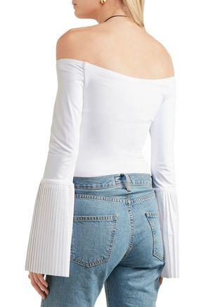 ALIX Bennet off-the-shoulder stretch-jersey bodysuit