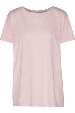 HELMUT LANG Open-back Pima cotton and modal-bend jersey top