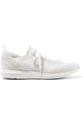 ADIDAS by STELLA McCARTNEY Sonic rubber-trimmed stretch-mesh sneakers