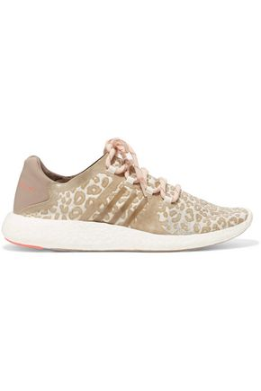 ADIDAS by STELLA McCARTNEY Pure Boost coated mesh sneakers