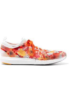 ADIDAS by STELLA McCARTNEY Printed stretch-mesh sneakers
