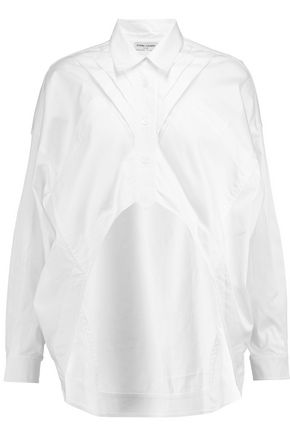 OPENING CEREMONY Asymmetric cotton-blend shirt