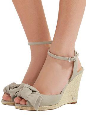 91d09d55c244 ... MICHAEL MICHAEL KORS Willa suede espadrille wedge sandals ...