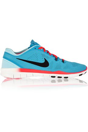 NIKE Free 5.0 TR mesh and neoprene sneakers