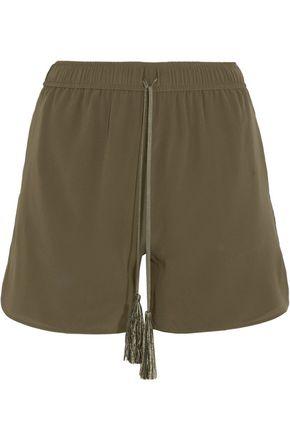 ZEUS + DIONE Paxi silk crepe de chine shorts
