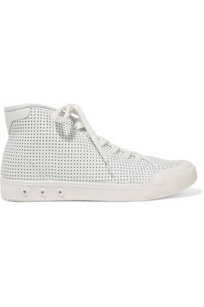 RAG & BONE Standard Issue perforated leather high-top sneakers