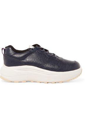 EYTYS Textured-leather platform sneakers