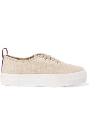EYTYS Linen platform sneakers