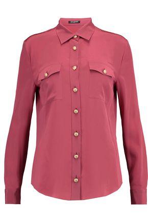 BALMAIN Silk-chiffon shirt
