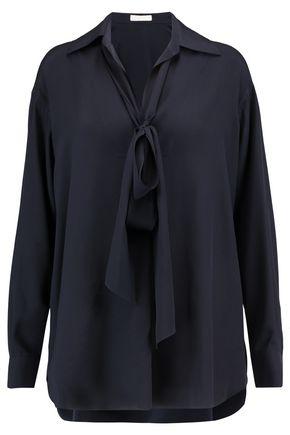 CHLOÉ Pussy-bow silk blouse