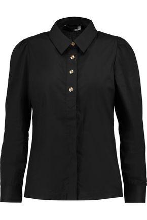 LOVE MOSCHINO Cotton-blend voile shirt