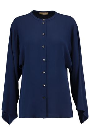 MICHAEL KORS COLLECTION Silk-georgette blouse