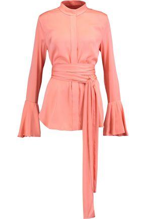ELLERY Silk-blend top