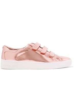 MICHAEL MICHAEL KORS Craig mirrored-leather sneakers