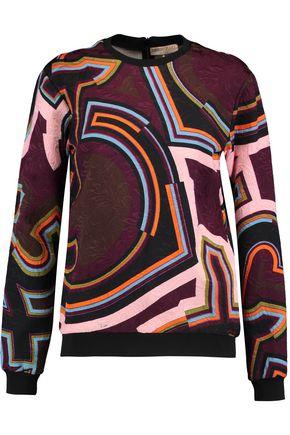 EMILIO PUCCI Printed jacquard sweatshirt
