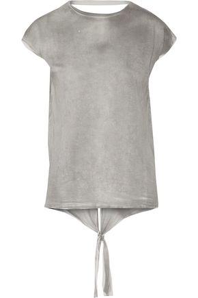 IRO Onnys open-back tie-dye stretch-jersey T-shirt