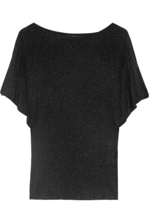 gucci on sale. gucci metallic-finish ribbed knitted top gucci on sale r