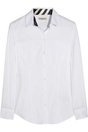 BURBERRY Cotton-blend shirt