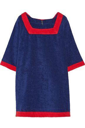 LISA MARIE FERNANDEZ Sailor cotton-terry beach dress