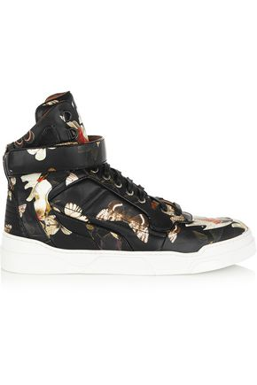 GIVENCHY Tyson sneakers in moth-print leather