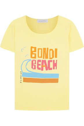 SOLID & STRIPED + Donald Robertson Bondi Beach cotton T-shirt
