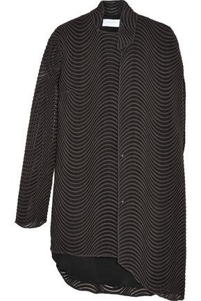 ESTEBAN CORTAZAR Asymmetric guipure lace top