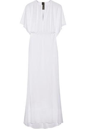 NORMA KAMALI Obie stretch-jersey dress