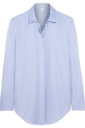 IRIS & INK Thea cotton-poplin shirt