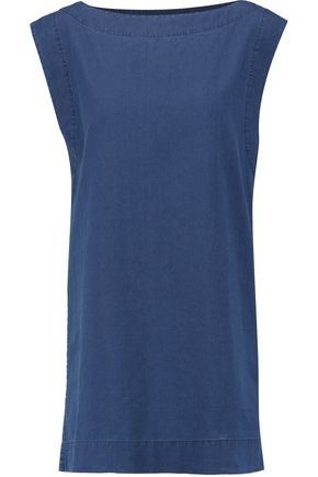 ORLEBAR BROWN Gabrielle cotton-chambray dress