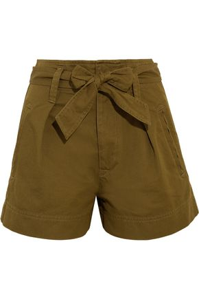 ISABEL MARANT ÉTOILE Oscar cotton-twill shorts