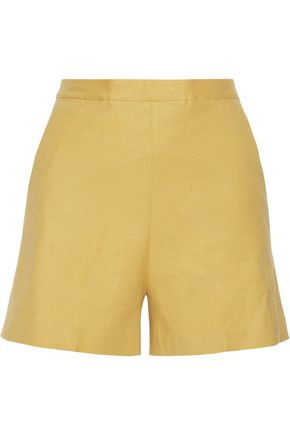 THEORY Linen-blend shorts