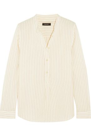 ISABEL MARANT Udena striped cotton shirt