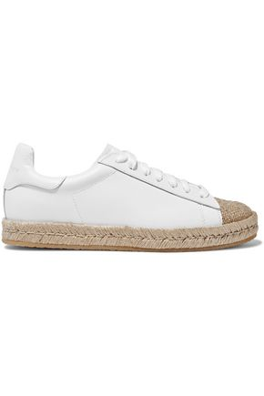ALEXANDER WANG Rian leather espadrilles