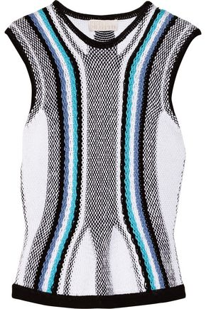 PETER PILOTTO R knitted cotton top