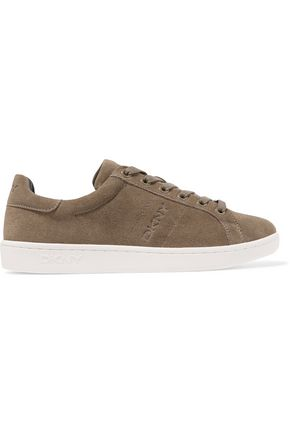 DKNY Clay suede sneakers