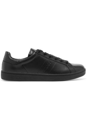 DKNY Leather sneakers