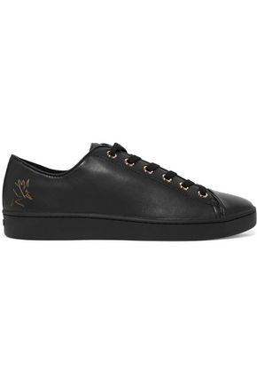 DKNY Brayden leather sneakers