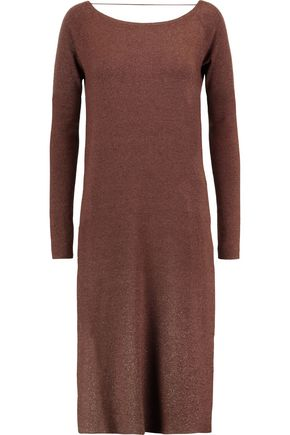 BRUNELLO CUCINELLI Metallic cashmere-blend tunic