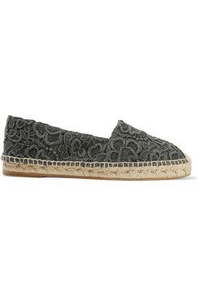 STELLA McCARTNEY Guipure lace espadrilles
