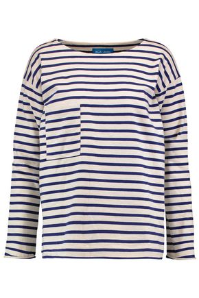 M.I.H JEANS Striped cotton top