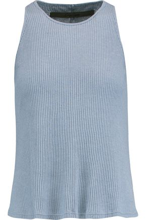 ENZA COSTA Ribbed-knit tank