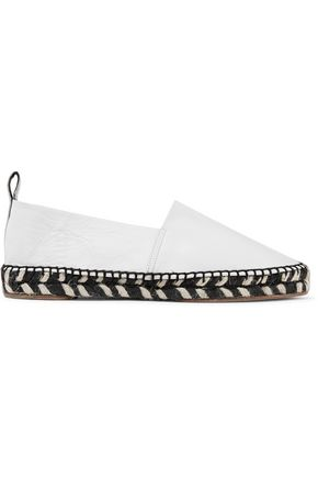 PROENZA SCHOULER Leather espadrilles