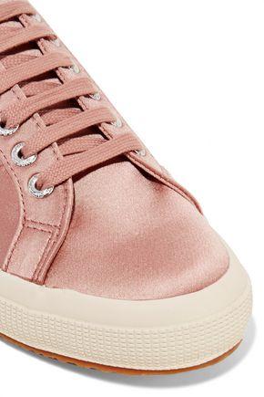 SUPERGA Satin sneakers