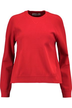 VALENTINO Stretch-knit sweatshirt