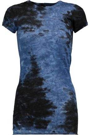ENZA COSTA Printed cotton-jersey T-shirt
