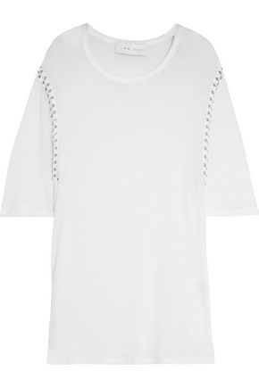 IRO Embellished jersey top