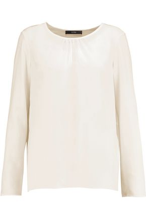ETRO Silk-satin blouse